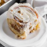 Making you own Copycat Cinnabon Cinnamon Rolls is easier than you may think. You're only a few basic ingredients and 3 hours away from the most delicious cinnamon rolls. Let's get baking.