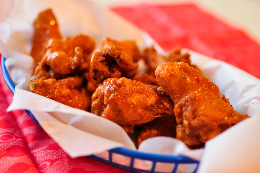 These copycat Hooters Chicken Wings are the only thing you need for the big game. Super crispy, soaked in spicy buffalo sauce