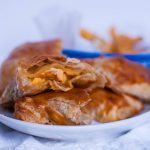 Looking for the perfect appetizer or main dish for the next big game? Look no further than these Buffalo Chicken Pockets. Only 5 ingredients and 30 minutes.