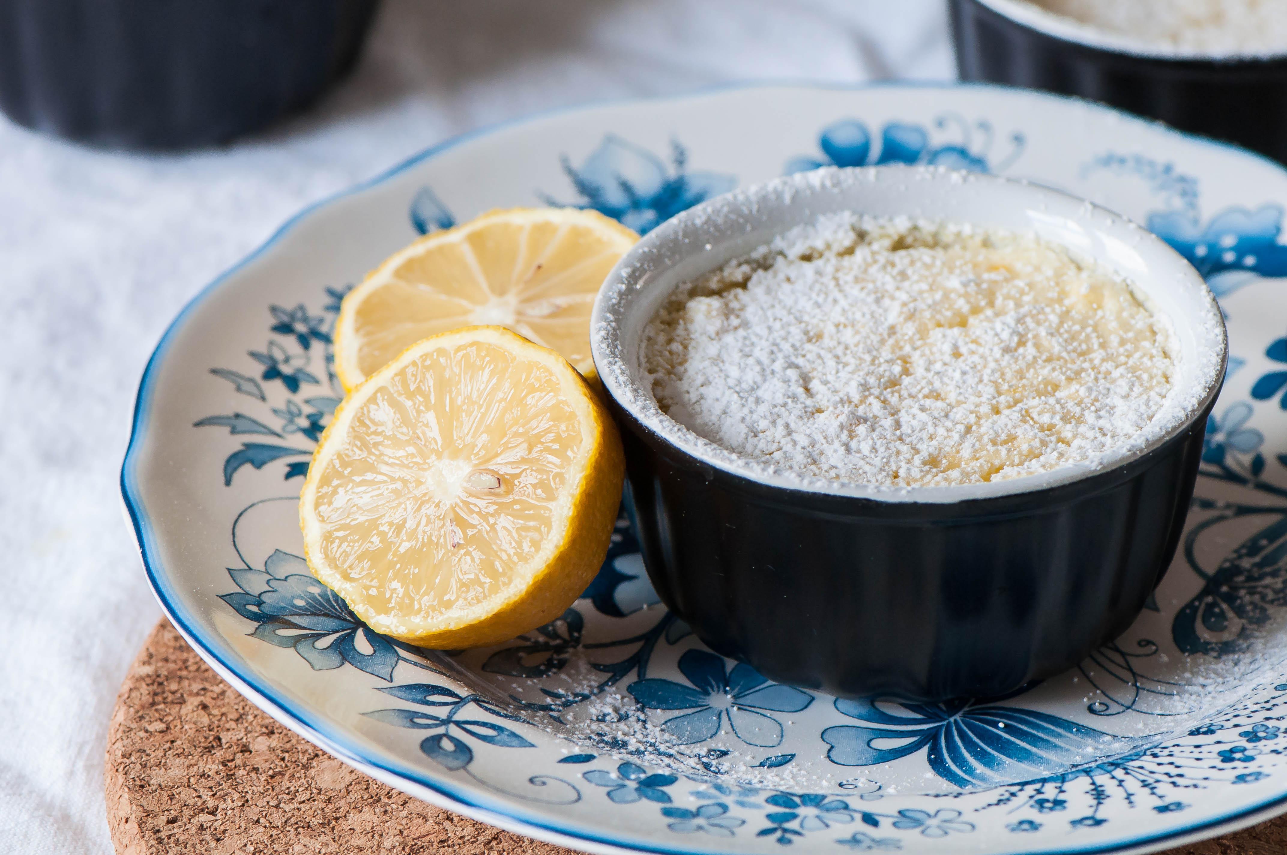 Individual Irish Lemon Pudding