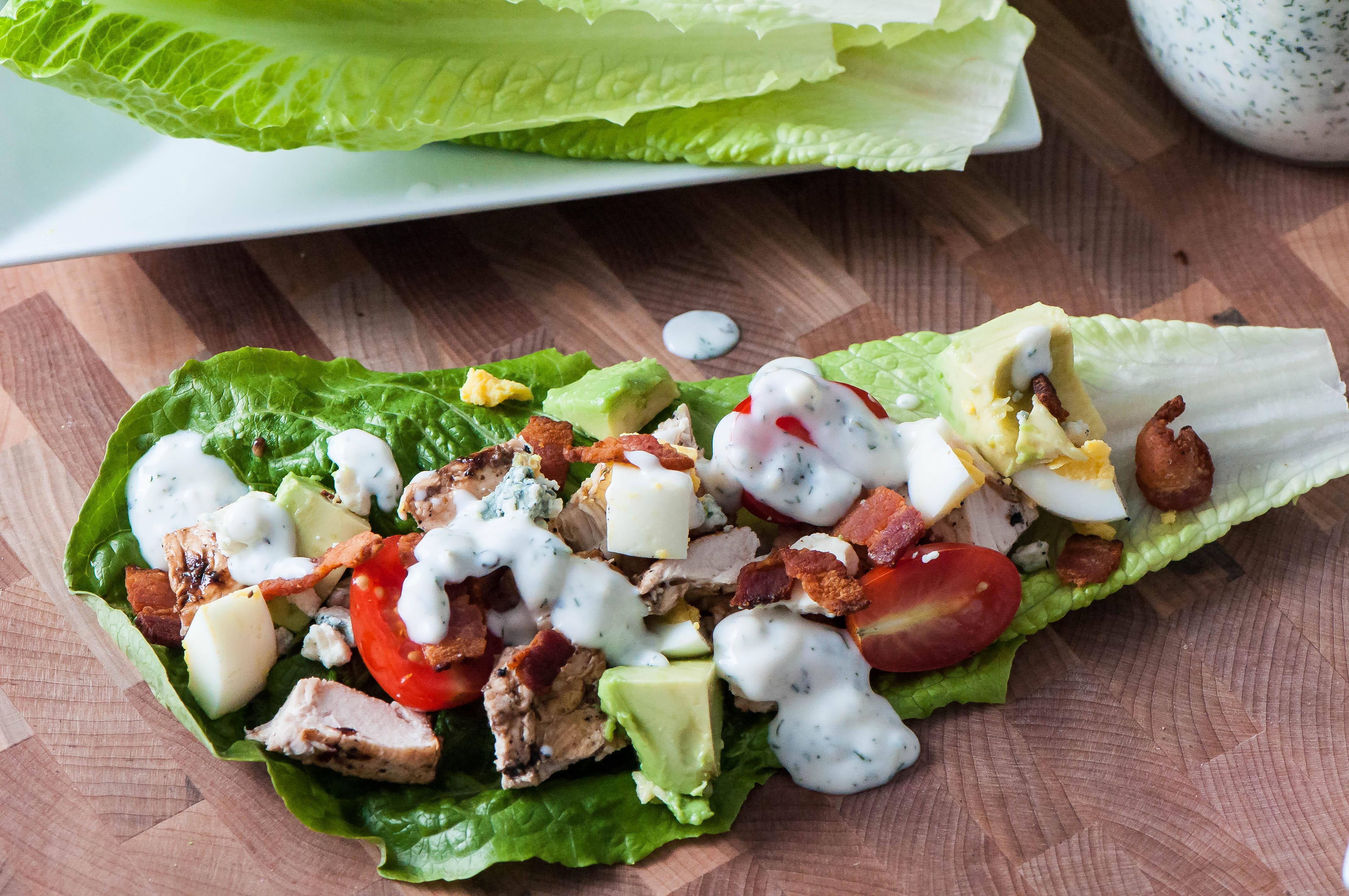 California Cobb Lettuce Wraps