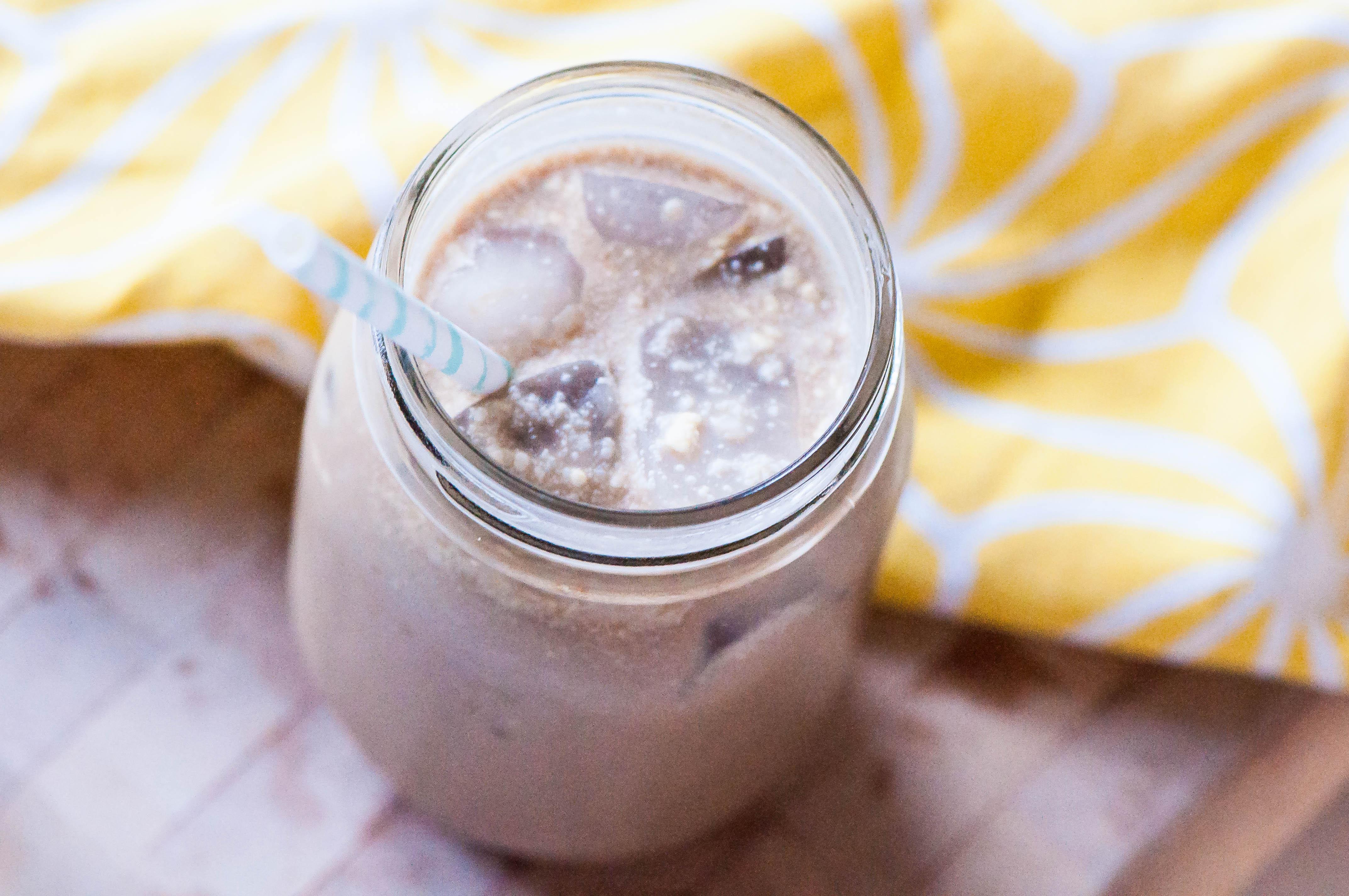 Creamy Coconut Iced Coffee