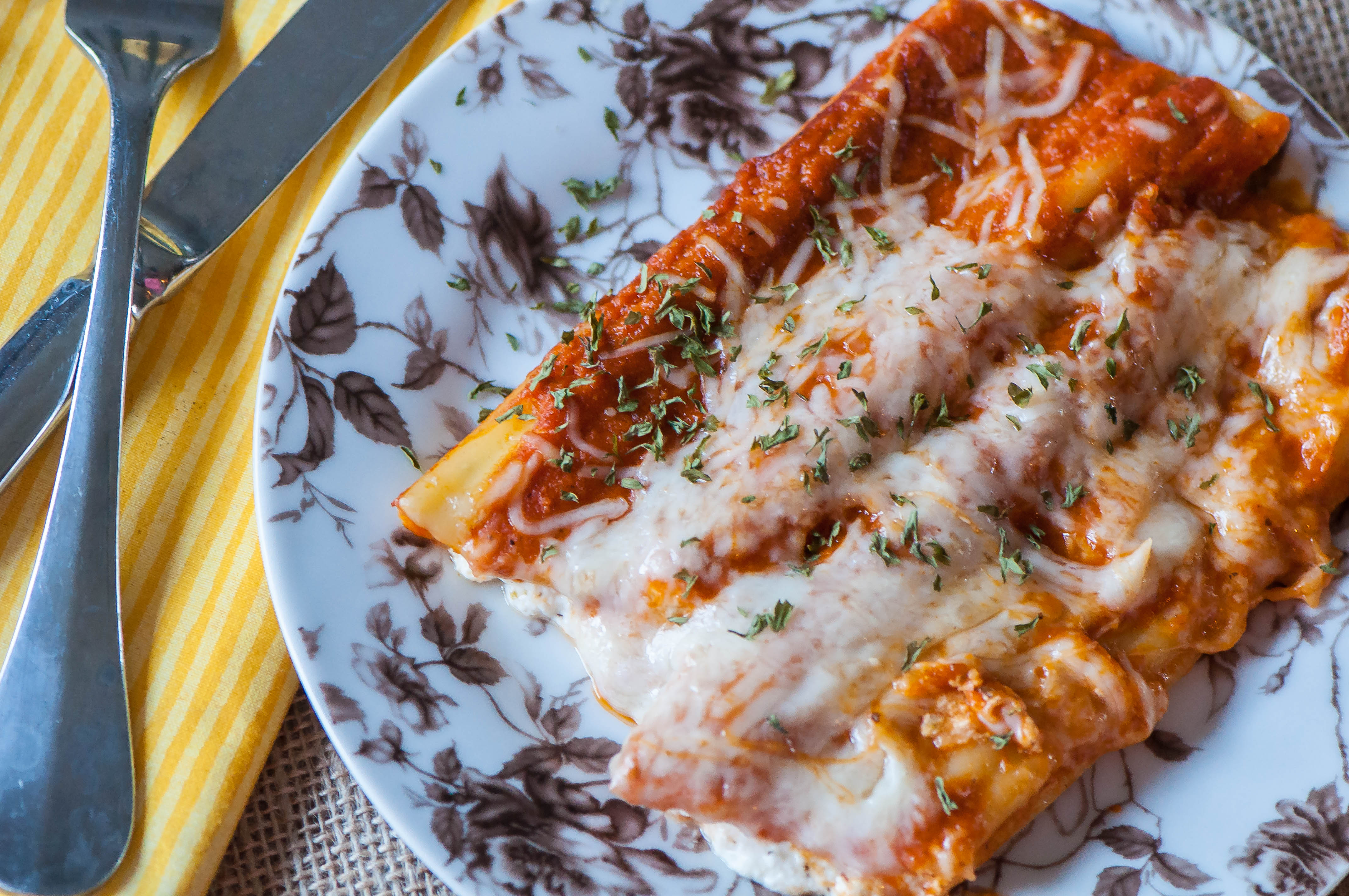 Pizza Manicotti