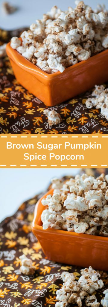 Brown Sugar Pumpkin Spice Popcorn