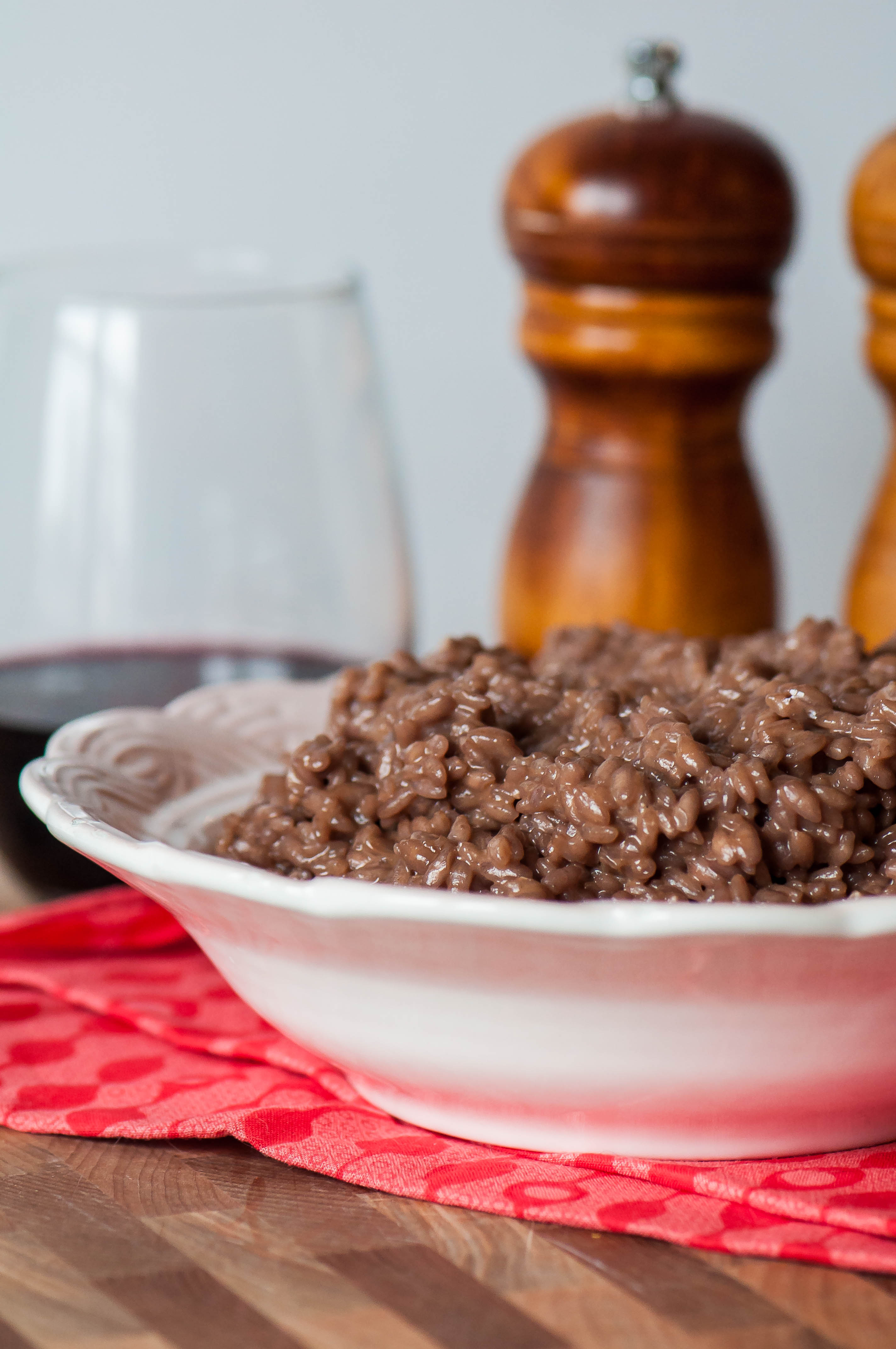 Red Wine Risotto - Meg's Everyday Indulgence