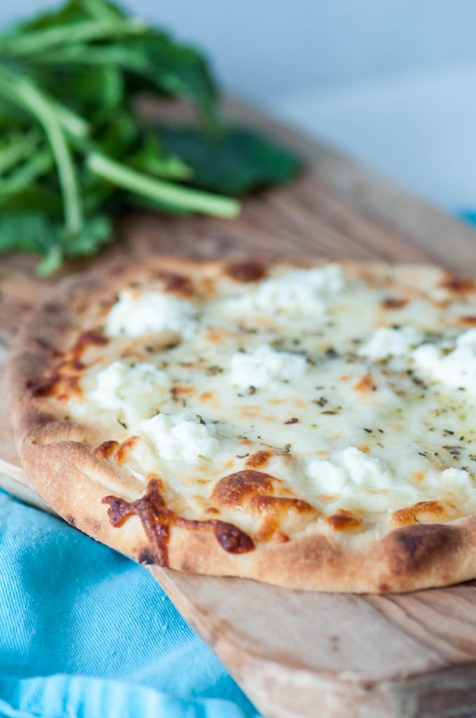 4 Cheese Flatbread Pizza