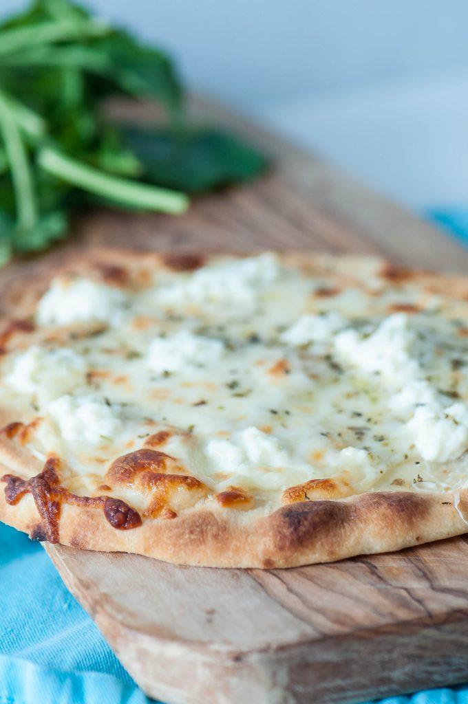 4 Cheese Flatbread Pizza