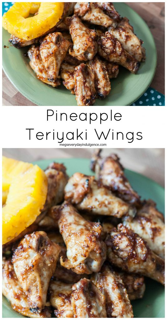 Pineapple Teriyaki Wings