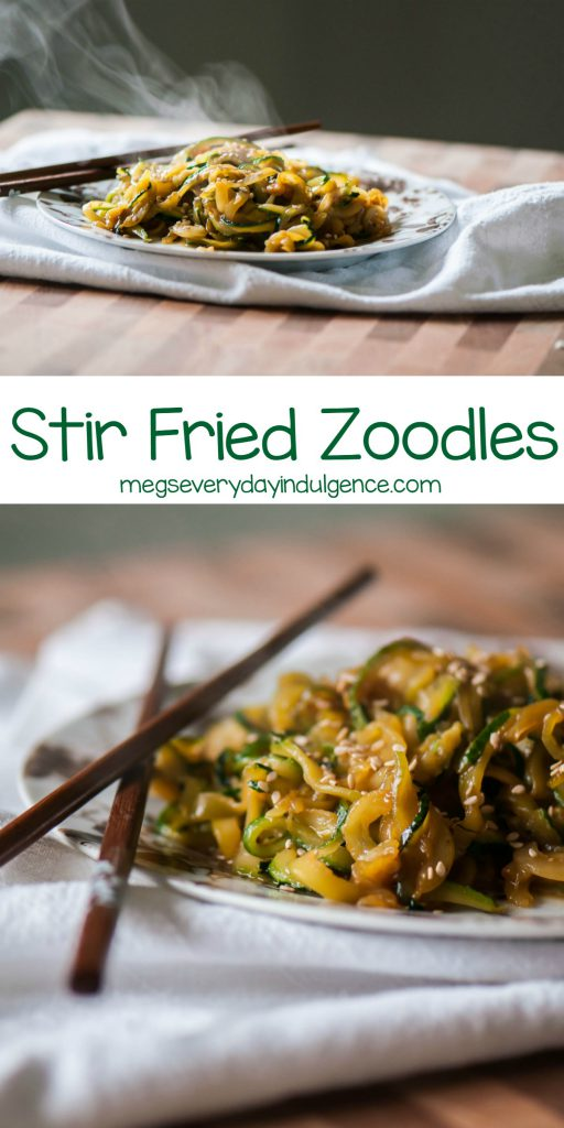 Stir Fried Zoodles