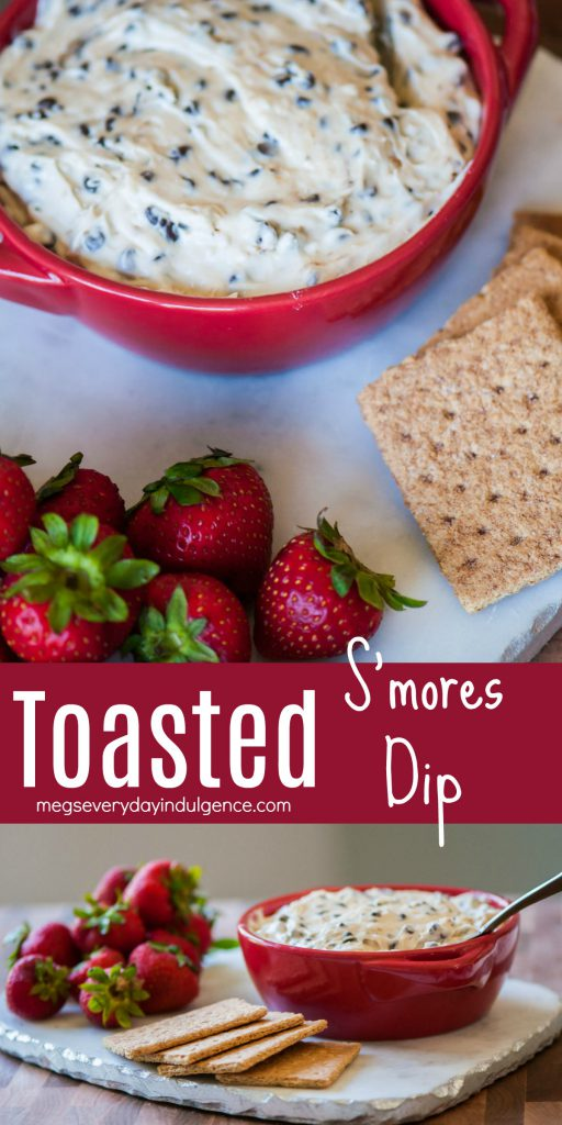 Toasted S'mores Dip