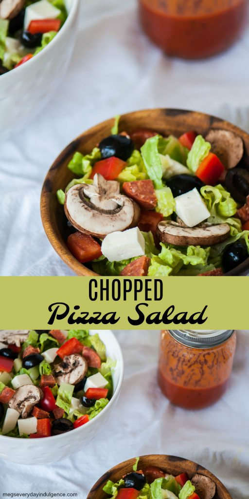 Chopped Pizza Salad