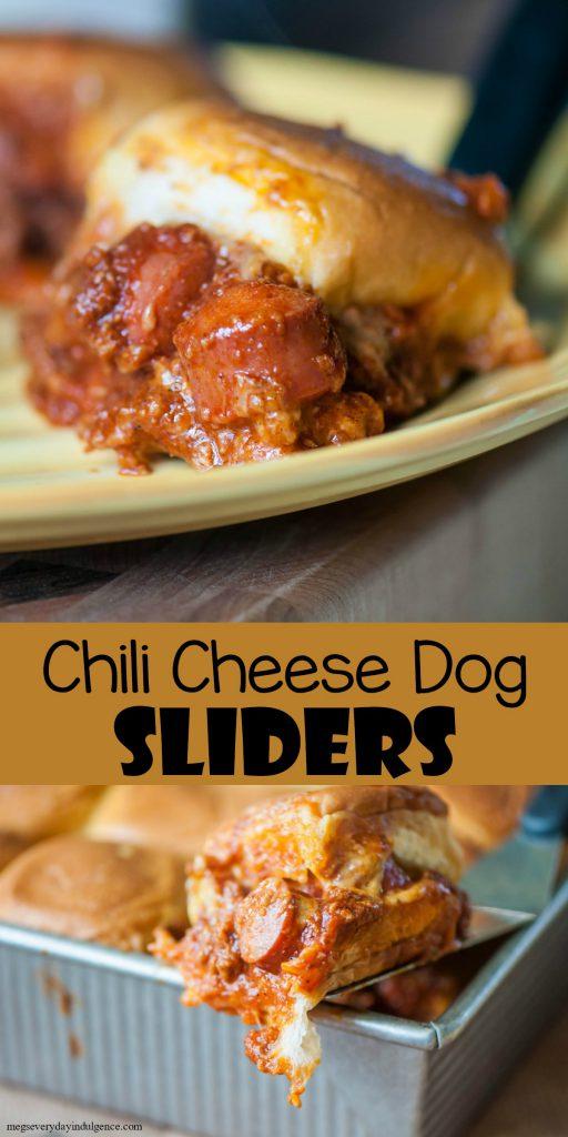 Chili Cheese Dog Sliders