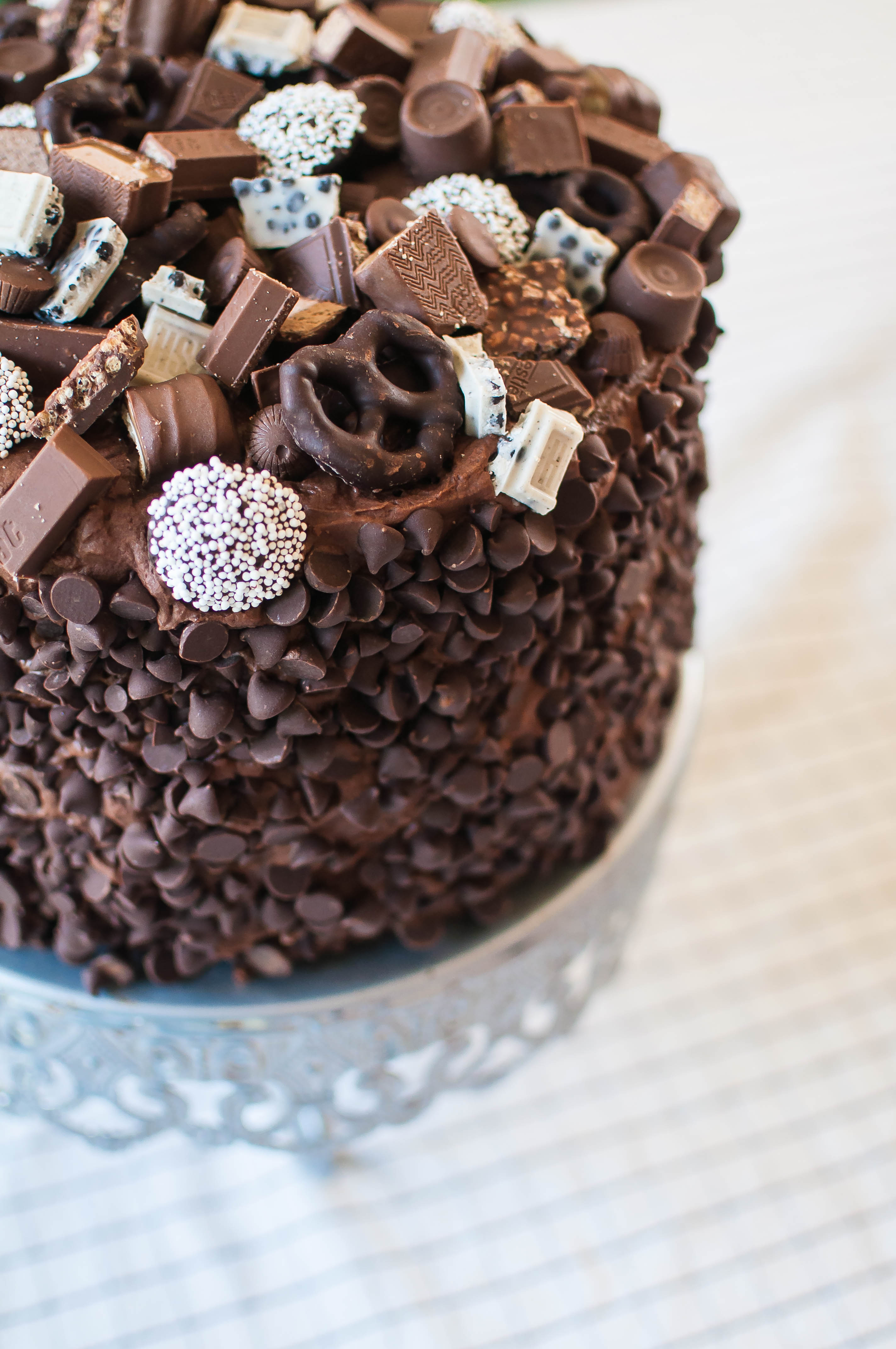 Chocolate Overload Layer Cake