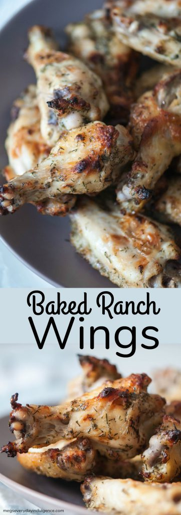 Baked Ranch Wings