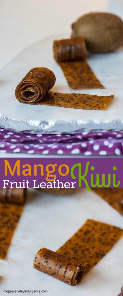 Mango Kiwi Fruit Leather