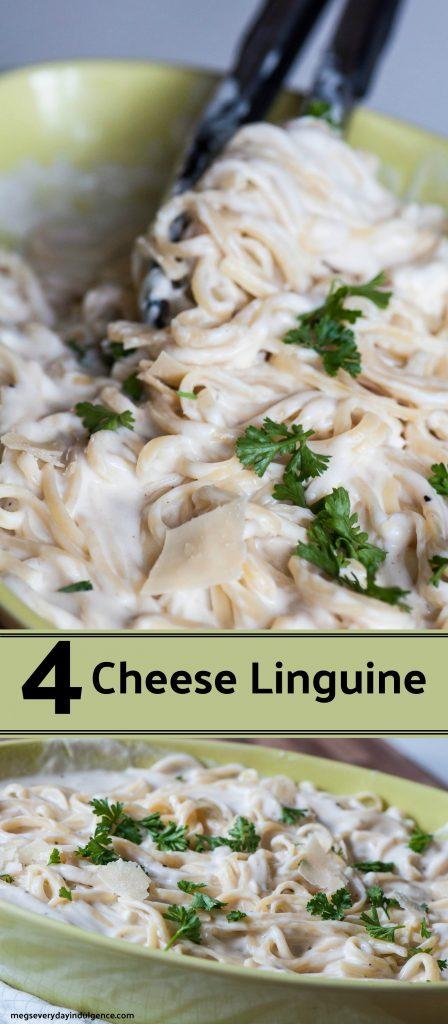 4 Cheese Linguine