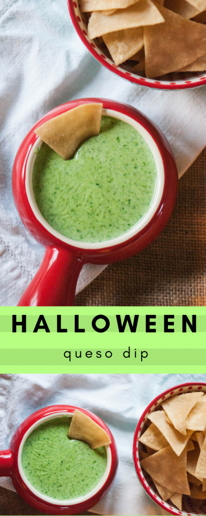 Halloween Queso Dip