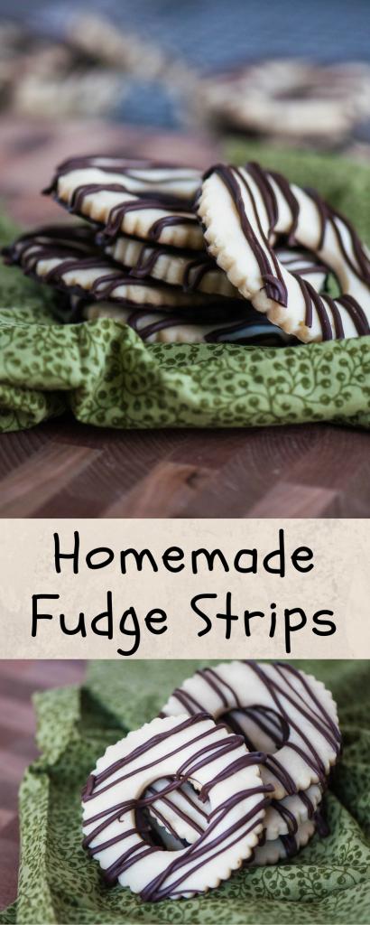 Homemade Fudge Stripes