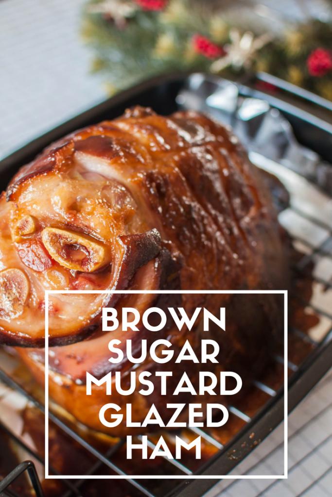 Brown Sugar Mustard Glazed Ham