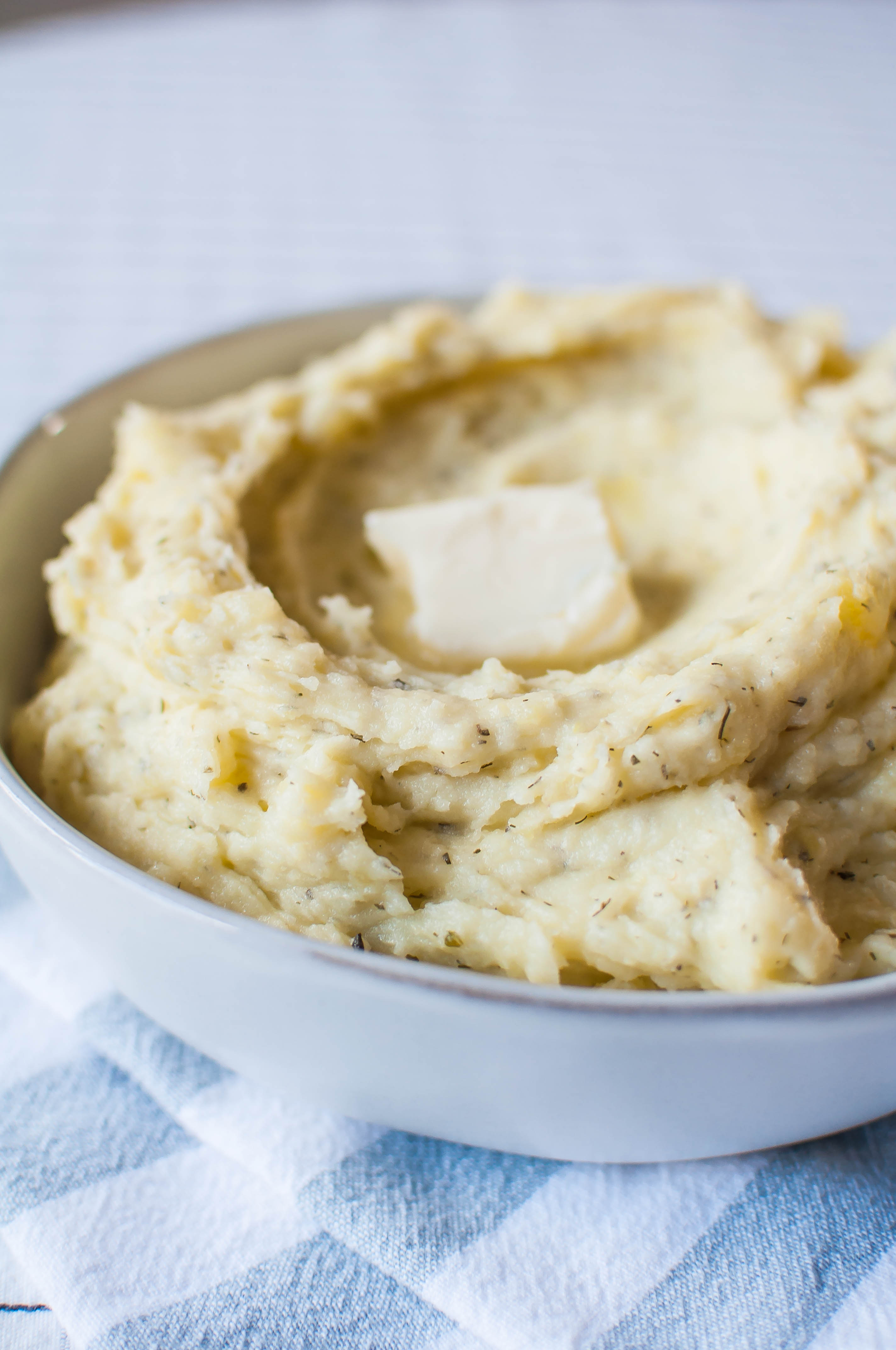 Herbed Mascarpone Mashed Potatoes