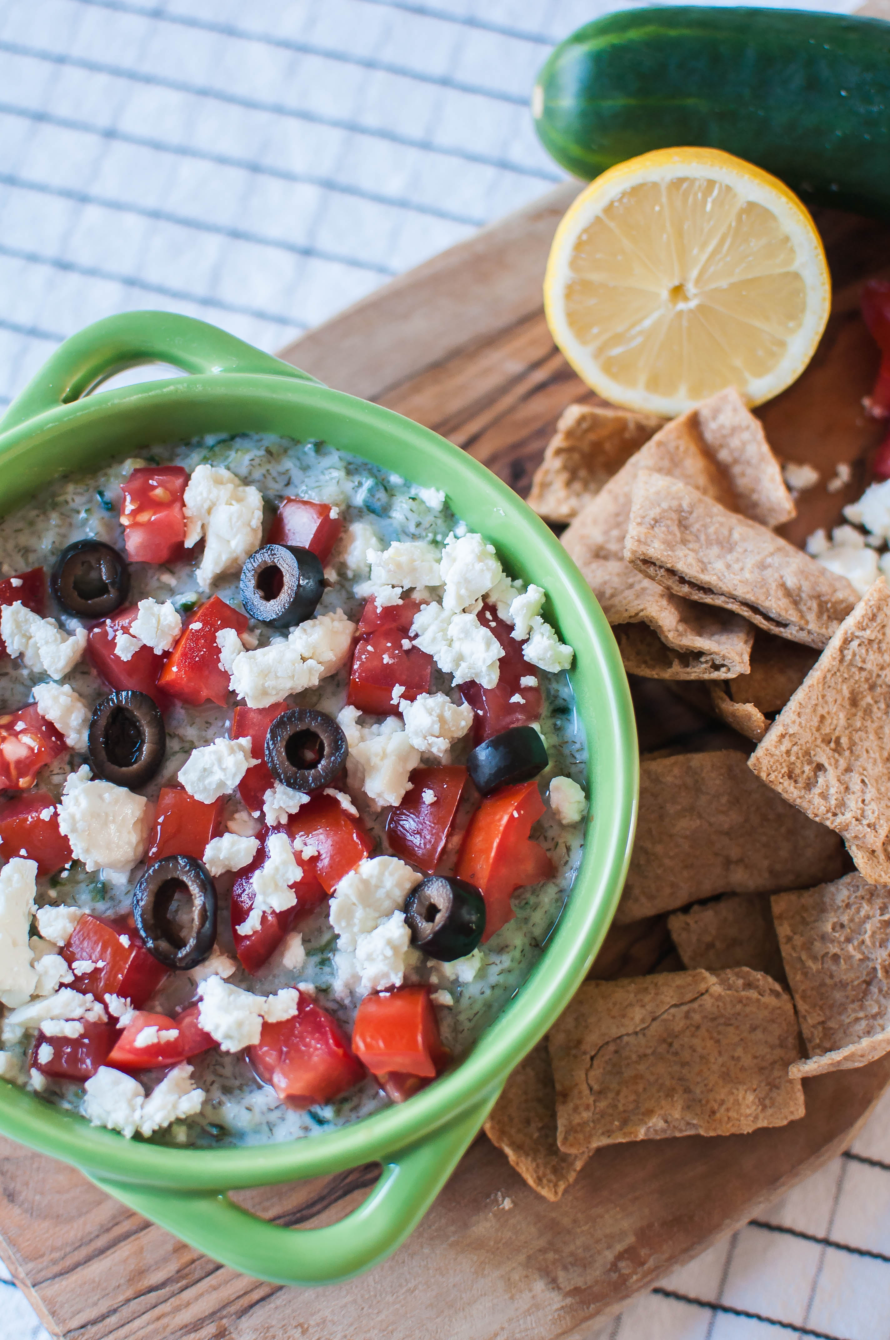 Layered Greek Dip