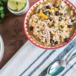 Instant Pot Mexican Chicken Stew is a snap to make in just 20 minutes. It's warming, hearty and spicy. Filled with chicken, beans, rice, sweet potatoes.