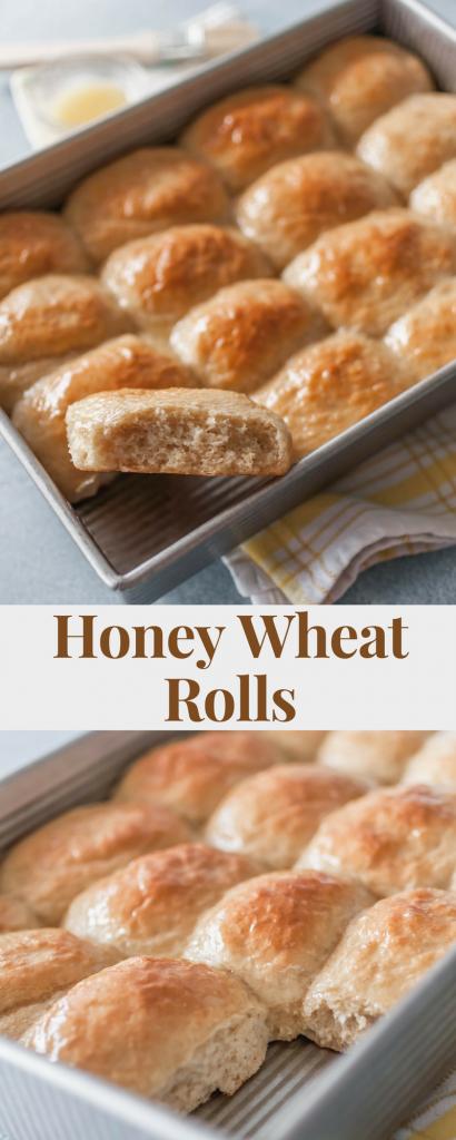Honey Wheat Rolls