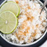 Instant Pot Coconut Lime Rice is a delicious and simple side dish worthy of busy weeknights and dinner party guests. Full of tropical flavors and done in minutes.