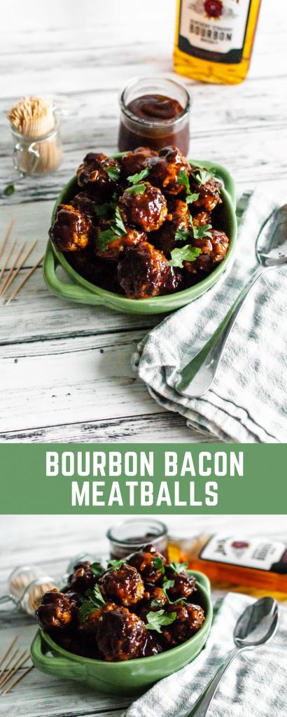 Bourbon Bacon Meatballs