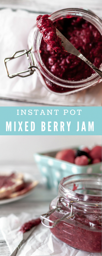 Instant Pot Mixed Berry Jam
