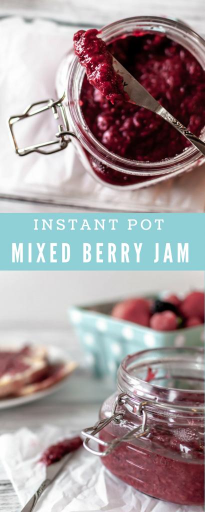 Instant Pot Mixed Berry Jam