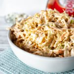 Buffalo Chicken Coleslaw