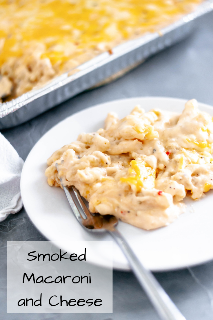 Your smoker doesn't have to be just for meat. This Smoked Macaroni and Cheese has a creamy, three cheese sauce that is tossed with pasta and smoked for a slightly smoky flavor.