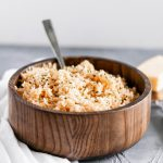 Jazz up your plain white rice and make this Instant Pot Garlic Parmesan Rice instead. Just as simple as plain rice but packed with flavor.
