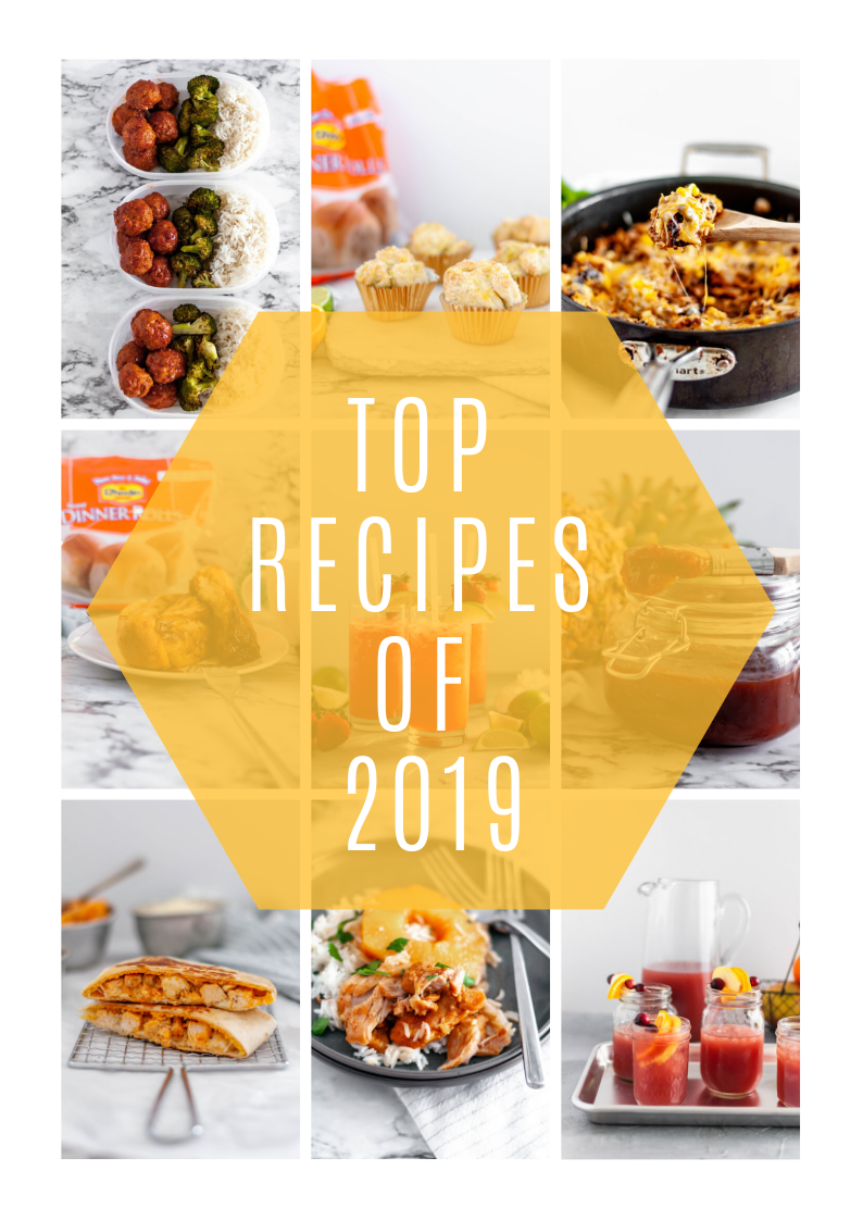 Today I'm sharing the top recipes of 2019 on Meg's Everyday Indulgence. From appetizers to main dishes to beverages and everything in between, here are the 10 most popular recipes I shared this year.