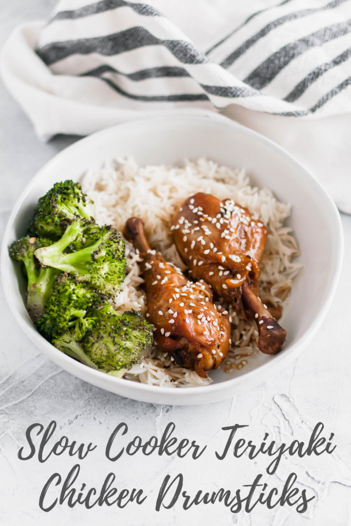 These Slow Cooker Teriyaki Drumsicks are the perfect meal when you're short on ingredients and the desire to cook. You're going to love this one.