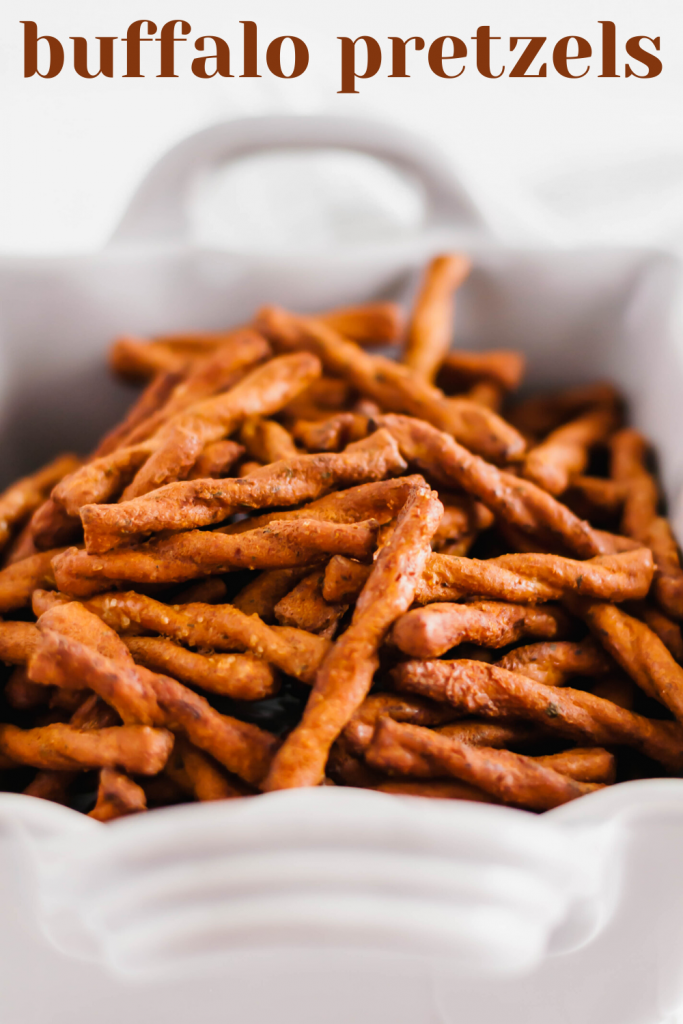 Snacks make everything better. Especially when they are spicy Buffalo Pretzels. They are easy to make and will have you addicted from the start.