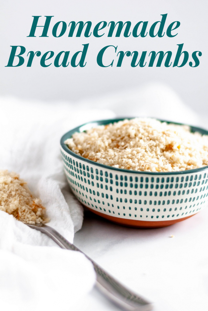 Don't throw away that stale bread in your cabinet. Instead, use it to make Homemade Bread Crumbs. They are super simple to make and can be used in all your favorite recipes.