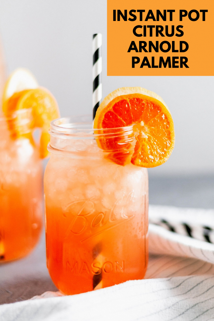 Drop everything right now and whip up a refreshing Citrus Arnold Palmer. So light and refreshing on a hot summer day.