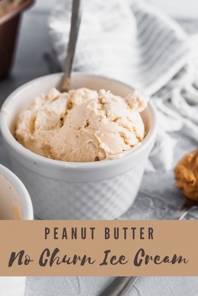 No ice cream maker? No problem! You can make this easy, incredibly rich Peanut Butter No Churn Ice Cream by hand with just 4 ingredients.
