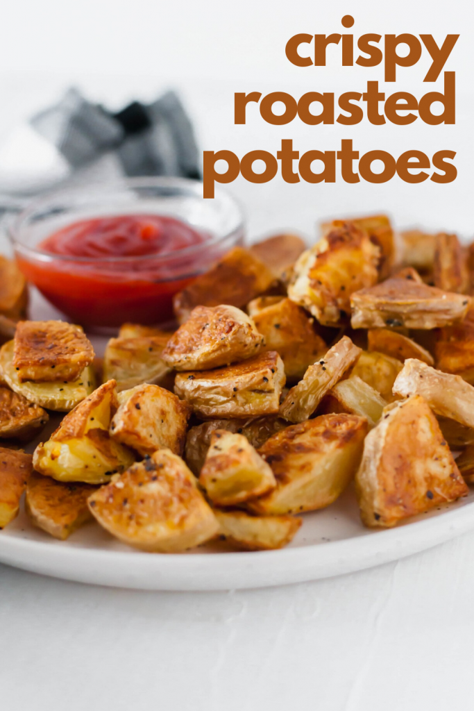 Get ready for the best potatoes around. These Crispy Roasted Potatoes are super easy to make and have the crunchiest exterior.
