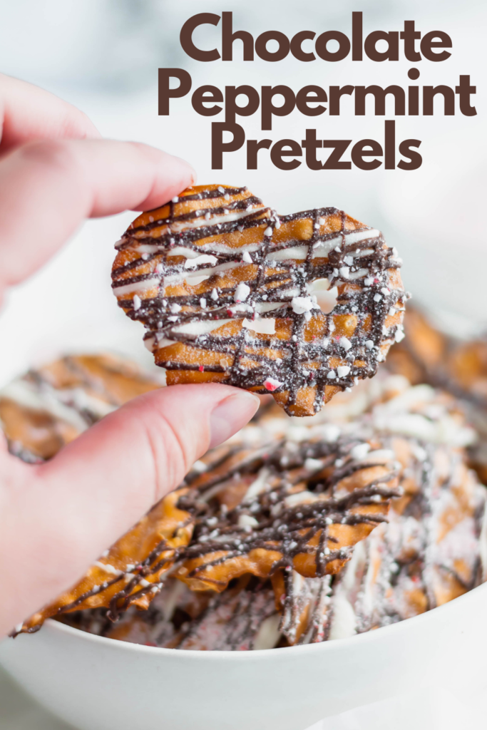 Looking for a delicious sweet and salty treat this holiday season? These Chocolate Peppermint Pretzels are just what you need.