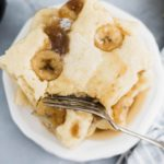 Get your pancakes made in a flash with this fun method. Sheet Pan Pancakes with Caramelized Bananas will quickly become a breakfast favorite.