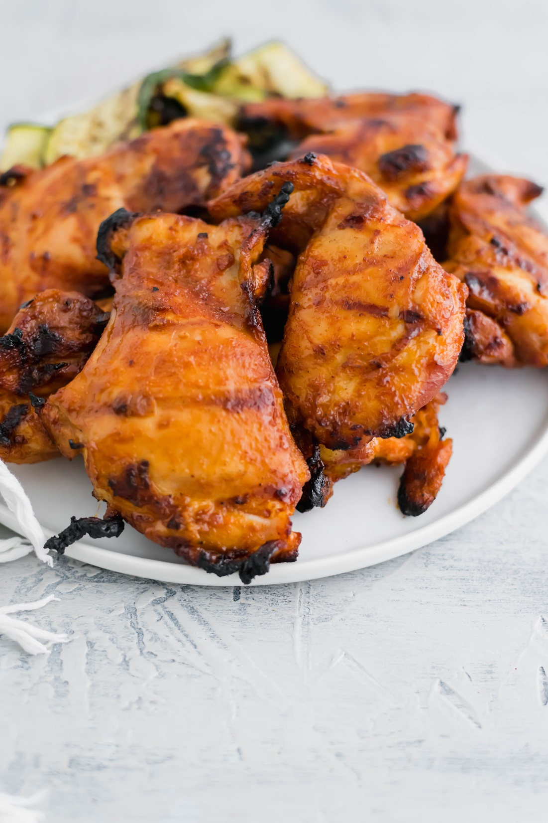 Need to spice up your summer grilling routine?! This spicy chicken marinade is super flavorful and simple to make. Perfect for grilling season!